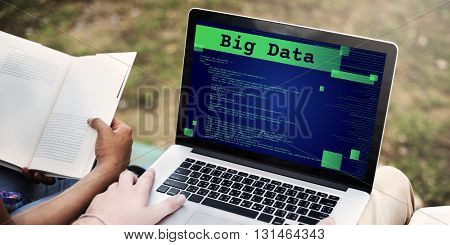 Big Data Database Digital Information Technology Concept