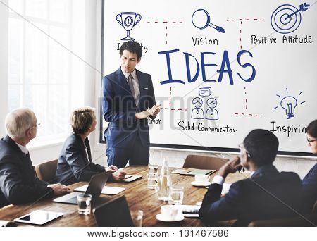Ideas Mission Objective Plan Proposal Strategy Concept