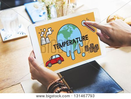 Temperature Save Earth Pollution Planet Environment Climate Change