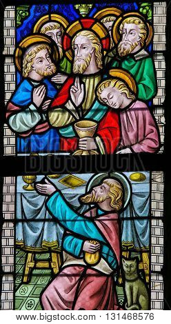 Stained Glass - Maundy Thursday