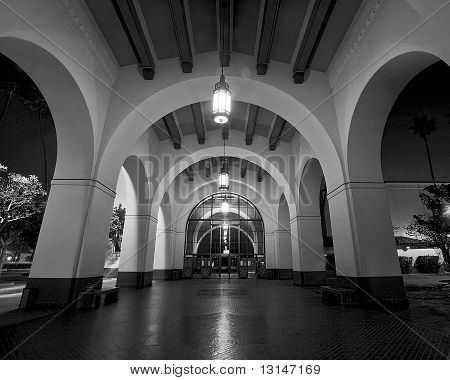 Arches in Black and White