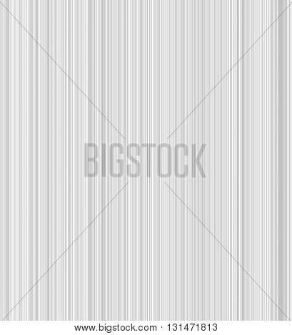 The gray background in small stripes. Vertical vector background
