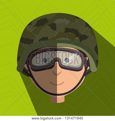 war soldier  design, vector illustration eps10 graphic