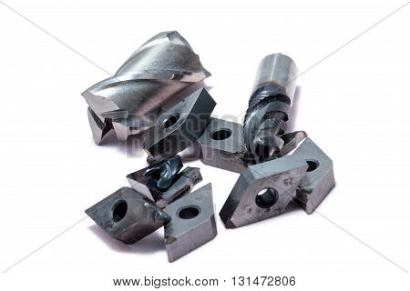 Broken Metal Lathe Tools And Mill Tools For Heavy Industry