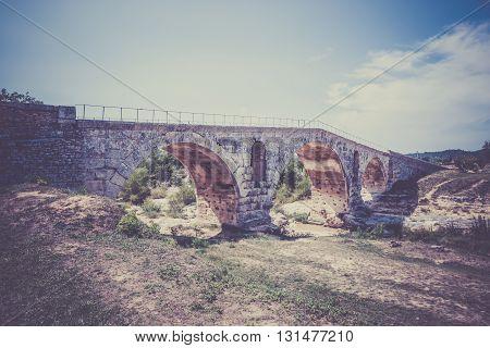 Julien Bridge In Provence, France