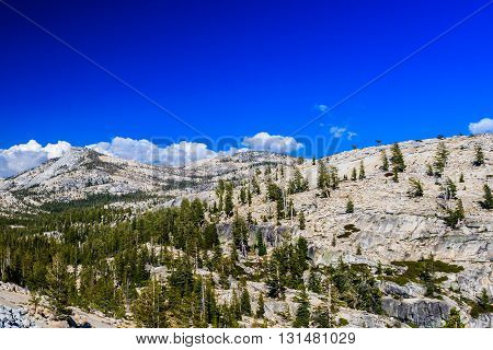 Tioga Pass, Yosemite National Park, Sierra Nevada, Usa