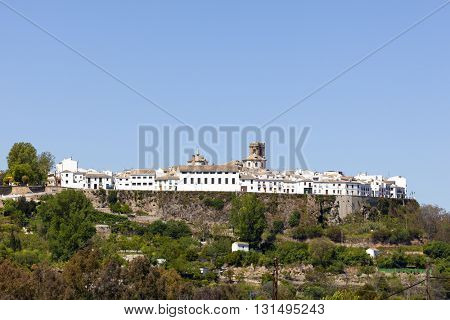 The fortified town of Priego de Cordoba, Andalusia, Spain
