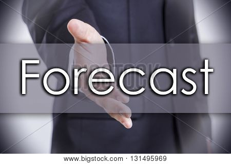 Forecast - Business Concept With Text