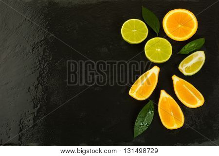 Healthy eating concept background. Fresh food. Ripe fruit. Citrus fruit. Vegetarian food. Fresh fruit. Mixed fruit. Fruit background. Healthy eating concept