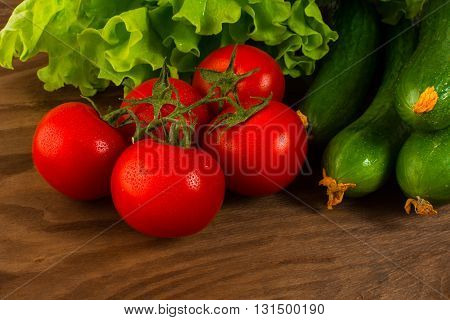 Healthy eating concept with cherry tomato. Healthy eating concept. Tomato. Cucumber. Healthy eating. Ripe vegetables. Fresh vegetables. Cherry tomato.