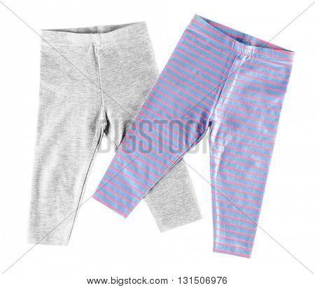Baby shorts, isolated on white