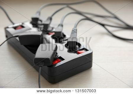 Loaded power strip