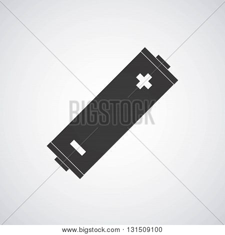 battery icon design, vector illustration eps10 graphic