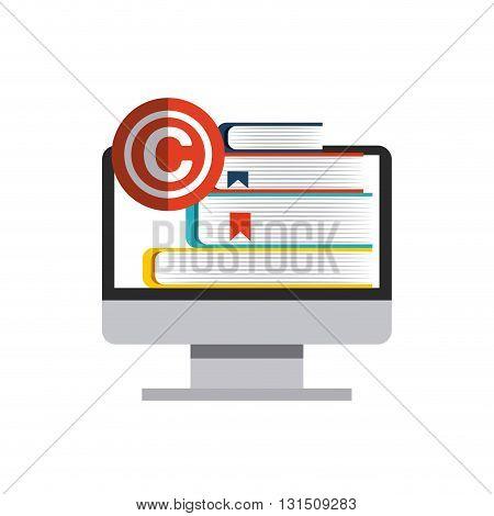 copyright  concept design, vector illustration eps10 graphic