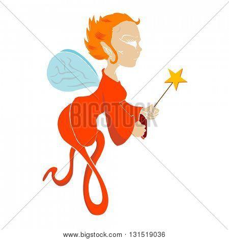 fairy cartoon illustration