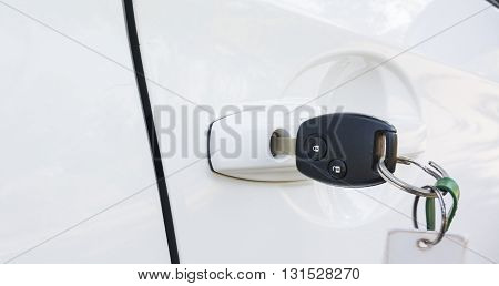 Key For Open The Door Of The Car