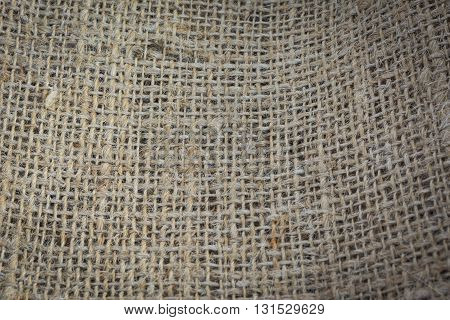 Abstract Old Sack Texture Background