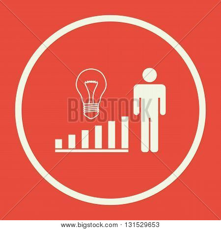 Project Idea Icon In Vector Format. Premium Quality Project Idea Symbol. Web Graphic Project Idea Si