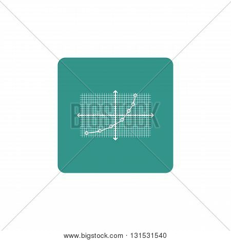 Grid Chart Line Icon In Vector Format. Premium Quality Grid Chart Line Symbol. Web Graphic Grid Char