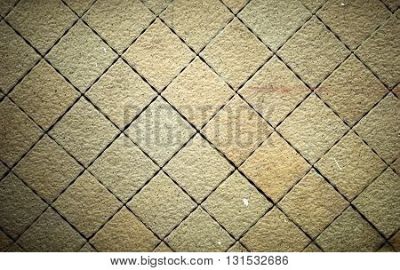 Stone wall background, Stone texture line square