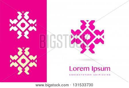 PREMIUM VECTOR LOGO / ICON DESIGN : BEAUTIFUL CROSS DESIGN