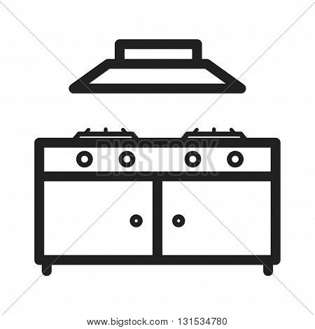 Stove, gas, cooking icon vector image.Can also be used for home. Suitable for mobile apps, web apps and print media.