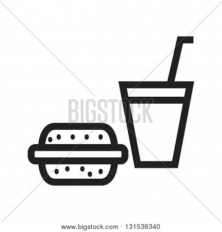 Food, meal, fresh icon vector image.Can also be used for shopping. Suitable for web apps, mobile apps and print media.