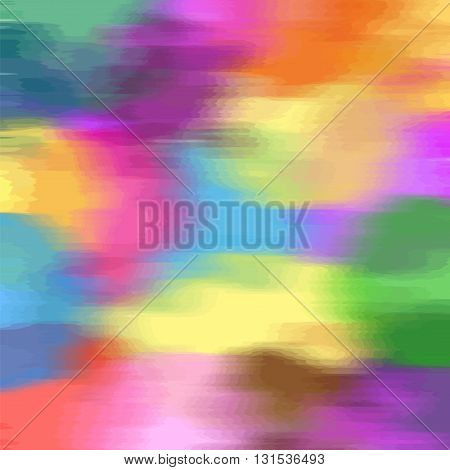 Abstract runge stained rainbow hazy blurred background