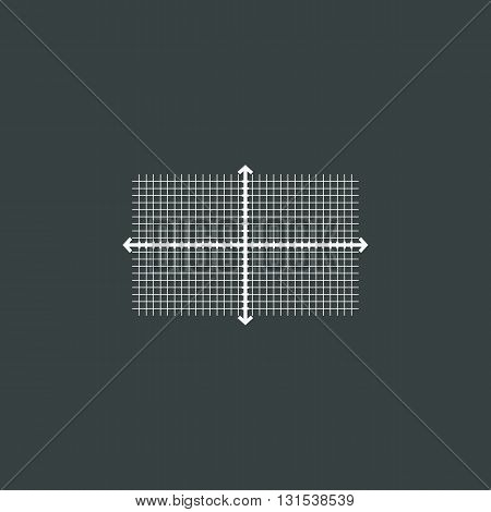 Rectangle Icon In Vector Format. Premium Quality Rectangle Symbol. Web Graphic Rectangle Sign On Dar