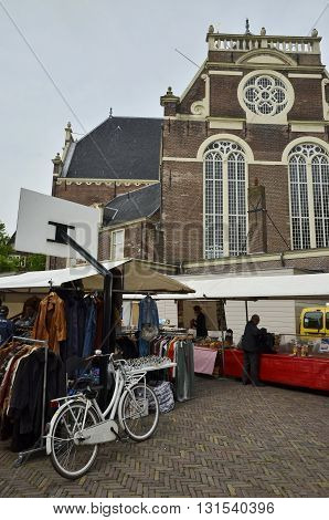 North View Of The Weekend Market