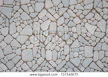 Abstract Pattern Of Grey Stone Wall Texture