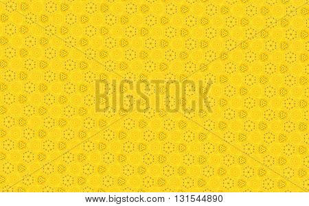 Light Yellow vintage Thai traditional pattern background