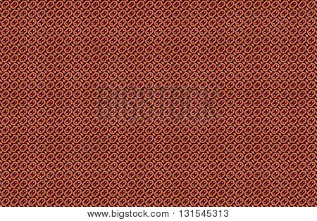 Red, orange and black vintage pattern background
