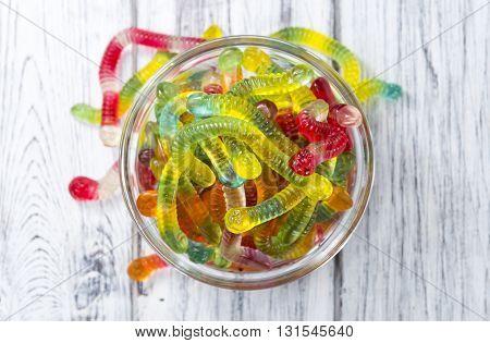 Gummi Candy (worms)
