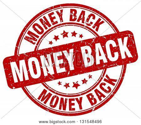 money back red grunge round vintage rubber stamp.money back stamp.money back round stamp.money back grunge stamp.money back.money back vintage stamp.