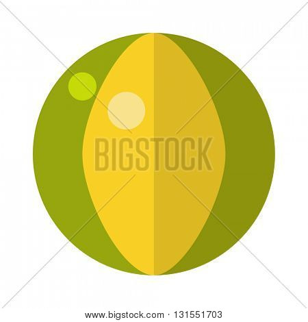 Inflatable ball vector illustration.