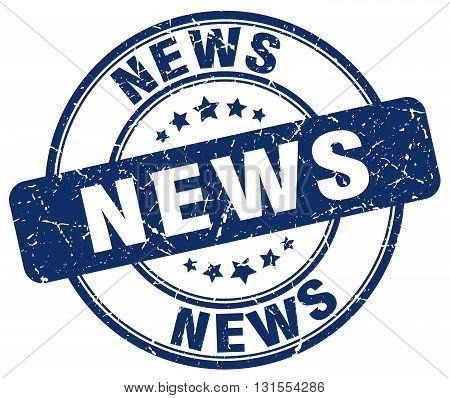 news blue grunge round vintage rubber stamp.news stamp.news round stamp.news grunge stamp.news.news vintage stamp.