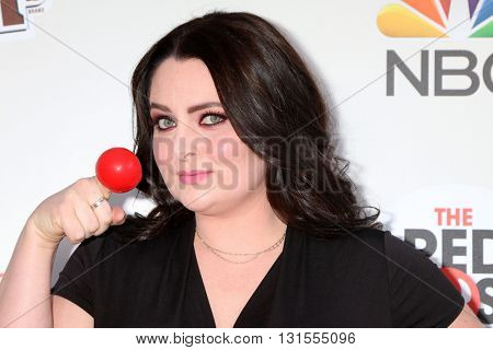 LOS ANGELES - MAY 26:  Lauren Ash at the Red Nose Day 2016 Special at Universal Studios on May 26, 2016 in Los Angeles, CA