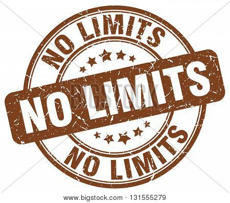 no limits brown grunge round vintage rubber stamp.no limits stamp.no limits round stamp.no limits grunge stamp.no limits.no limits vintage stamp.