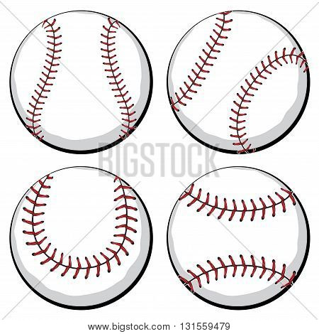 Baseball Ball Set