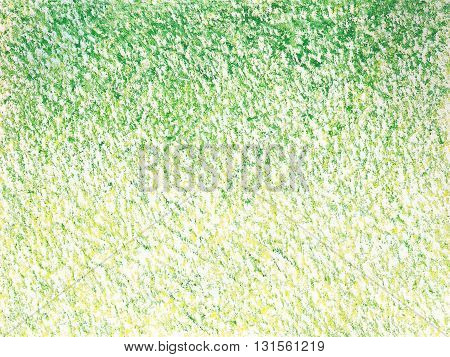 rough paper yellow green crayon abstract textures background