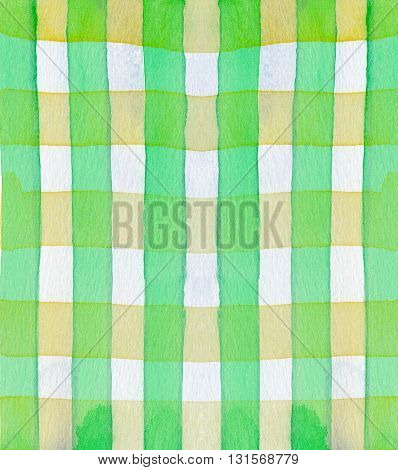 cross yellow green pattern abstract watercolor background