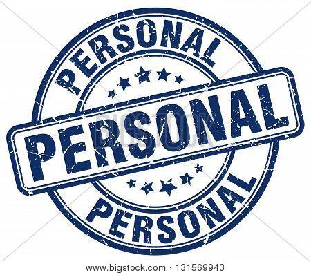 personal blue grunge round vintage rubber stamp.personal stamp.personal round stamp.personal grunge stamp.personal.personal vintage stamp.