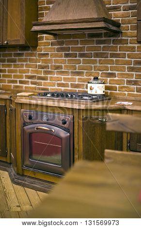 Clasic old style shabby shik kitchen interior
