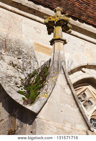 Krabbe - decorative element of the church
