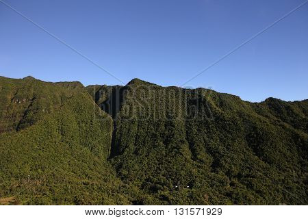 Cilaos Circus, La Reunion Island, Indian Ocean