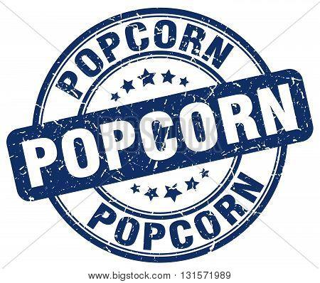 popcorn blue grunge round vintage rubber stamp.popcorn stamp.popcorn round stamp.popcorn grunge stamp.popcorn.popcorn vintage stamp.