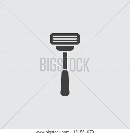 Razor icon illustration isolated vector sign symbol