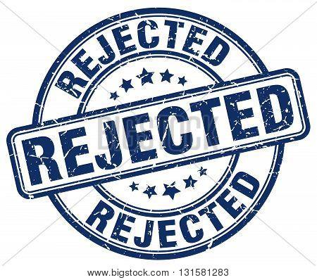 rejected blue grunge round vintage rubber stamp.rejected stamp.rejected round stamp.rejected grunge stamp.rejected.rejected vintage stamp.