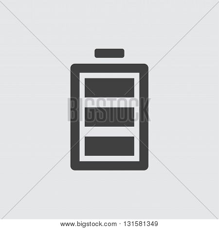 Battery icon illustration isolated vector sign symbol